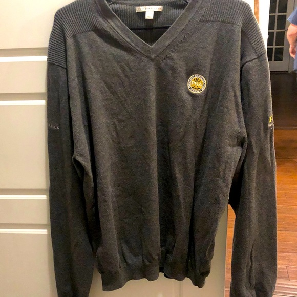 Cutter & Buck PGA logo V-Neck Sweater